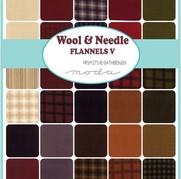 Wool Needle V Flannels By P Gath