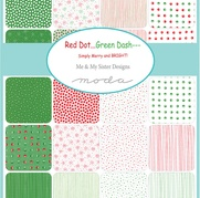 Red Dot...Green Dash By Me & My Sister