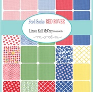 Feed Sacks Red Rover By Linzee McCray